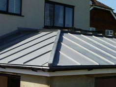 Vm Zinc Hip Roof 2 Dale Pinterest Extensions Zinc