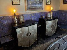 """HeartDeco"" in the Lakeheart Guesthouse bedroom Oregon Coast, Corner Desk, Art Deco, The Originals, Bedroom, Storage, Furniture, Home Decor, Corner Table"