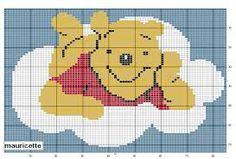 Resultado de imagem para ponto cruz bebe graficos ursinhos