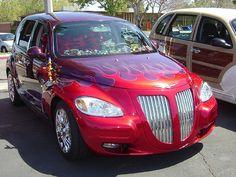 PT Cruiser car show picture