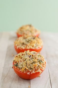 Provencal Tomatoes for the #JC100 by BS in the Kitchen http://bsinthekitchen.com/provencal-tomatoes/