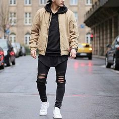 Via @trillestoutfit check them put for amazing streetwear! @trillestoutfit Model @khurshednuriddinov #mensfashion_guide