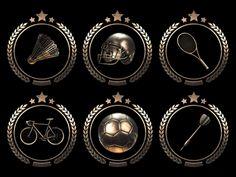 Sport Badges Animation by Webshocker. Soon in our shop http://videohive.net/user/Webshocker