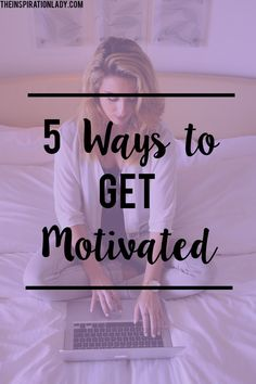 Have you ever felt totally unmotivated and couldn't get anything done? Same here! Here are 5 super quick tips for getting stuff done, even when you're feeling unmotivated.