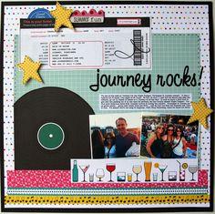 Journey rocks! - Scrapbook.com