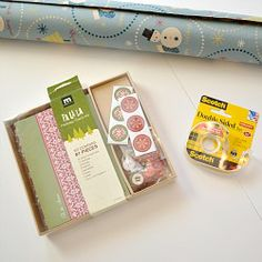 How to wrap gifts like a pro - it's all in the tape!