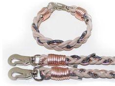 #Halsband-Leinen-Set für kleine Hunde beige rosegold                                                                                                                                                     Mehr
