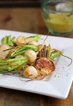 Roasted Baby Turnips with Spicy Mustard Dressing