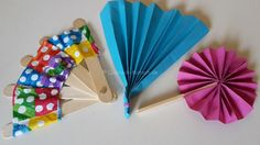Fächer für den Sommer basteln - DIY | Quatsch-Matsch.de