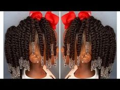 Lil Girl Hairstyles, Natural Hairstyles For Kids, Trendy Hairstyles, Braided Hairstyles, Black Hairstyles, Toddler Hairstyles, School Hairstyles, Short Haircuts, Teenage Hairstyles
