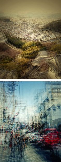 Multiple Exposure Photos of Japan by Stephanie Jung | Inspiration Grid | Design Inspiration