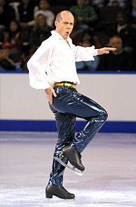 Kurt Browning.I love watching ice skating.Please check out my website thanks. www.photopix.co.nz