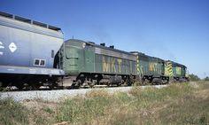 Missouri, Kansas, and Texas freight train symbol 106 at Hodge, TX