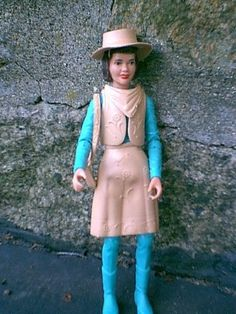 The Best of the West dolls were made by Marx from the late 1960s through the mid-1970s.