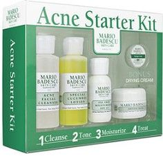 Mario Badescu Acne Starter Kit. Just got this and already seeing results ❤️