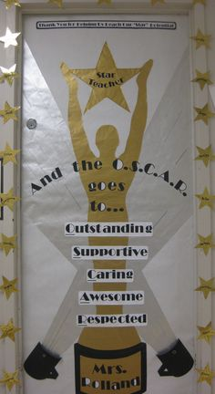 Done for Teacher with Hollywood Theme in her classroom.  (May 2011)