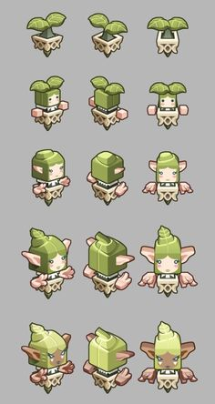 Elf Defense  (iphone game) by in-jae Byun, via Behance