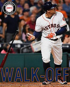 Springer dinger for the win!  George Springer goes deep in the 11th to win it for Astros (1st career walk-off HR). 6/1/2016
