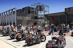 Harley-Davidson Museum in Milwaukee.  See it!  Also, check out the nearby Iron Horse Hotel..  You won't be disappointed.  And, oh yeah.. wear black. :)