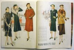 McCall's Magazine, October 1937 featuring McCall 9452, 9418, 9430 and also 9437 (by Schiaparelli) and 9446 (by Francevramant)