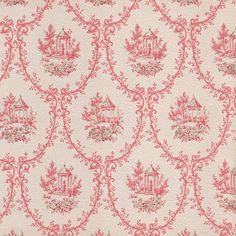 Pink Vintage Wallpaper | 1950s Vintage Antique Wallpaper