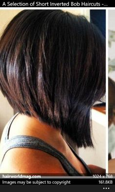 Inverted bob-I love the back of this cut by bettye