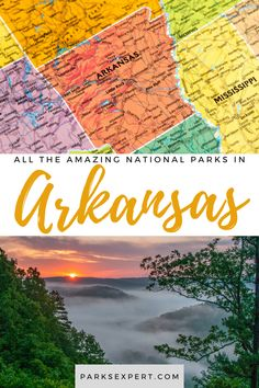 Did you know there are 7 national parks in Arkansas? Click here for the list, including things to do and how to get to each of the Arkansas national parks.