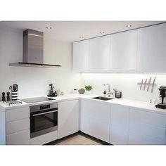 // Kitchen makeover    #kitchen #home #myhome #allwhite #voxtorp #nordiskstil #loveit #kahler #room123 #kkliving #nordichome #nordicinspiration #interior123 #nordiskehjem #boligpluss #ikea