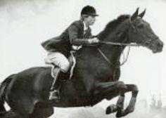 Princess Anne jumping
