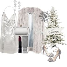 Winter Glamour by fashionistasrock on Polyvore featuring Topshop, Story of Lola, Gucci and Saks Fifth Avenue