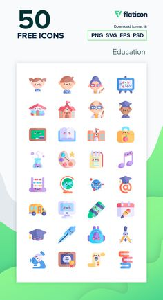 Free Icons Png, Vector Icons, Vector Free, School Pack, Free Icon Packs, Food Stickers, Elementary Teaching, Kawaii, Displaying Collections