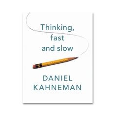 Why is there more chance we'll believe something if it's in a bold type face? Why are judges more likely to deny parole before lunch? Why do we assume a good-looking person will be more competent? The answer lies in the two ways we make choices: fast, intuitive thinking, and slow, rational thinking. This book reveals how our minds are tripped up by error and prejudice (even when we think we are being logical), and gives you practical techniques for slower, smarter thinking. It will enable to…