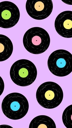 vinyl record wallpaper by Chateau Blanche Ipad Wallpaper Quotes, Music Wallpaper, Retro Wallpaper, Print Wallpaper, Cute Wallpaper Backgrounds, Wallpaper Iphone Cute, Aesthetic Iphone Wallpaper, Pattern Wallpaper, Cute Wallpapers
