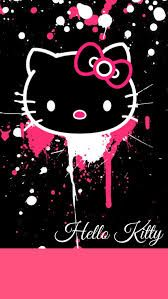 Image result for i love hello kitty wallpaper purple