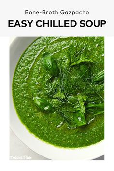 Your favorite chilled soup with an extra punch of flavor