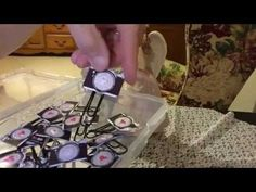 ▶ Tutorial~ Paper Camera Embellishment With & Without Punch Board - YouTube