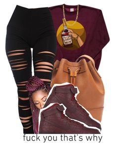 """""""U, Me, & Hennessy, look what you did to me Fckin' so crazy, you twirlin' and spinnin' me My head keep on spinnin', my legs keep on shakin'"""" by g0lden-twins ❤ liked on Polyvore featuring J.Crew, Akira, NIKE and Fremada"""