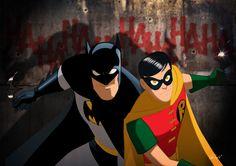 Batman & Robin (by Des Taylor