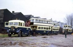 Other than the blindingly obvious, West Midlands PTE AEC Matador shunts some withdrawn 'deckers', I can't say anything about this Vintage Trucks, Old Trucks, London Transport, Public Transport, City Of Birmingham, Towing Company, Routemaster, Double Decker Bus, Bus Coach