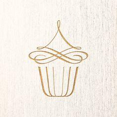 #Cupcake Logo Estudo de logomarca feito por nosso novo cliente na região norte do Brasil.