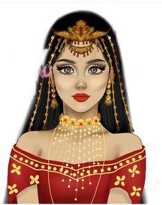 Girly M, Girly Girl, Girly Drawings, Cute Kawaii Drawings, Iphone Wallpaper Quotes Love, Disney Princess Fashion, Gypsy Girls, Islamic Cartoon, Cute Girl Drawing