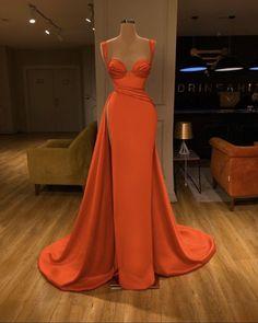 Cheap Party Dresses, Glam Dresses, A Line Prom Dresses, Elegant Dresses, Strapless Dress Formal, Wedding Dresses, Red Gown Prom, Orange Prom Dresses, Classy Gowns