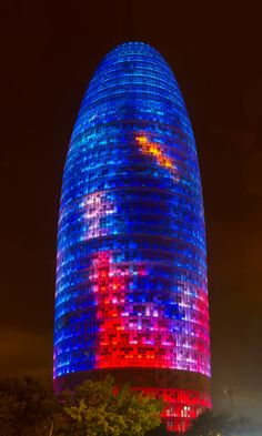 Torre Agbar, Barcelona, Spain ✯ ωнιмѕу ѕαη∂у