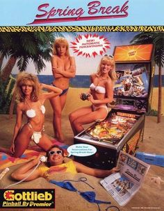 Wonderfully Campy Arcade Machine Posters From 80s 1