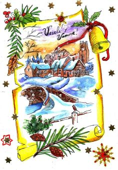 Xmas Cards Handmade, Rooster, Animals, Handmade Christmas Greeting Cards, Animales, Animaux, Animal, Animais, Chicken