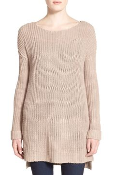 cupcakes and cashmere 'Geoffrey' Tunic Sweater