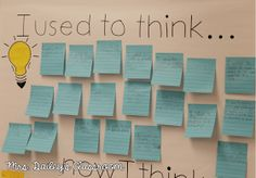 I have been reading such a unique book called, Making Thinking Visible at my school with a few teachers and it's been filled with different ...