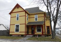"""This fabulous Queen Anne at 313 E. Mulberry St. in Westport, Indiana, rated """"notable"""" by Indiana Landmarks, is for sale!"""