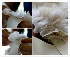 DIY ruffly belt with Rachel from Heart of Light | DIY Wedding, Wedding Wardrobe | 100 Layer Cake