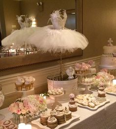 Angelic Swan Theme - First Holy Communion Party Ideas! First Communion Party, Baptism Party, First Holy Communion, Ballerina Baby Showers, Ballerina Party, Angel Baby Shower, Angel Theme, Communion Decorations, Heart Party